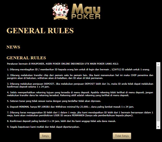 Cara Daftar Agen IDNPLAY Poker Online Deposit Murah ...