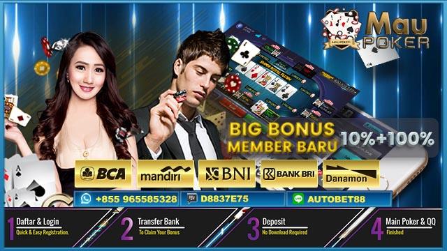 Poker Online Tanpa Deposit Awal 2018